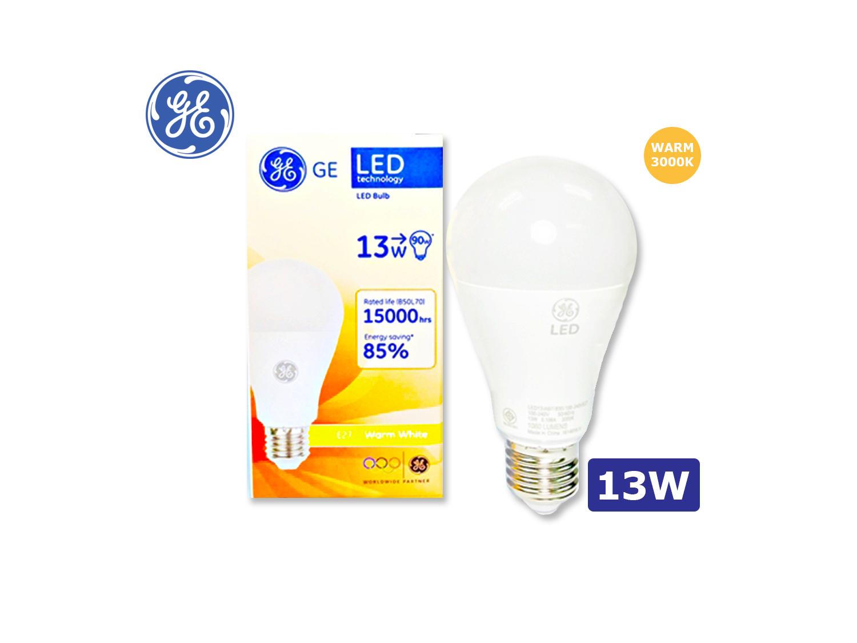 GE LED A67/13W/E27/3000K(Warm White)/100-240V; SKU : 30889T, LED13/A67/830/100-240V/E27 G4
