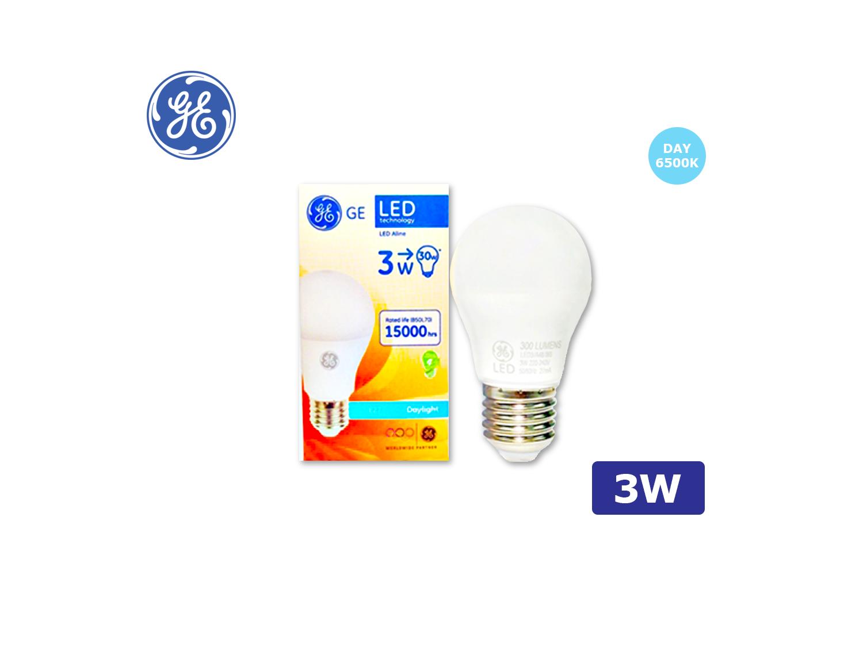 GE LED A48/3W/E27/6500K(Daylight)/220-240V ; SKU : 45615T, LED3/A48/865/220-240/E27
