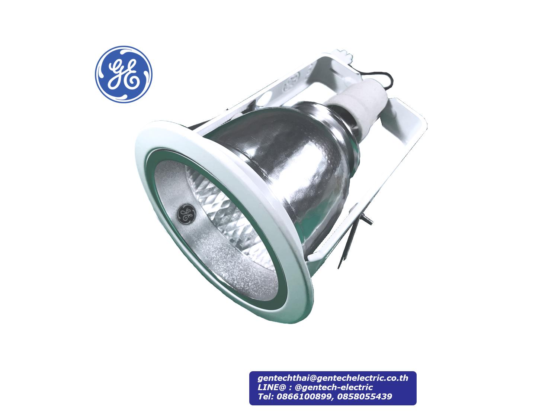 GE Downlight 4 Inches, E27, Vertical; SKU: AF41521, FLEV E27/S4/ECO
