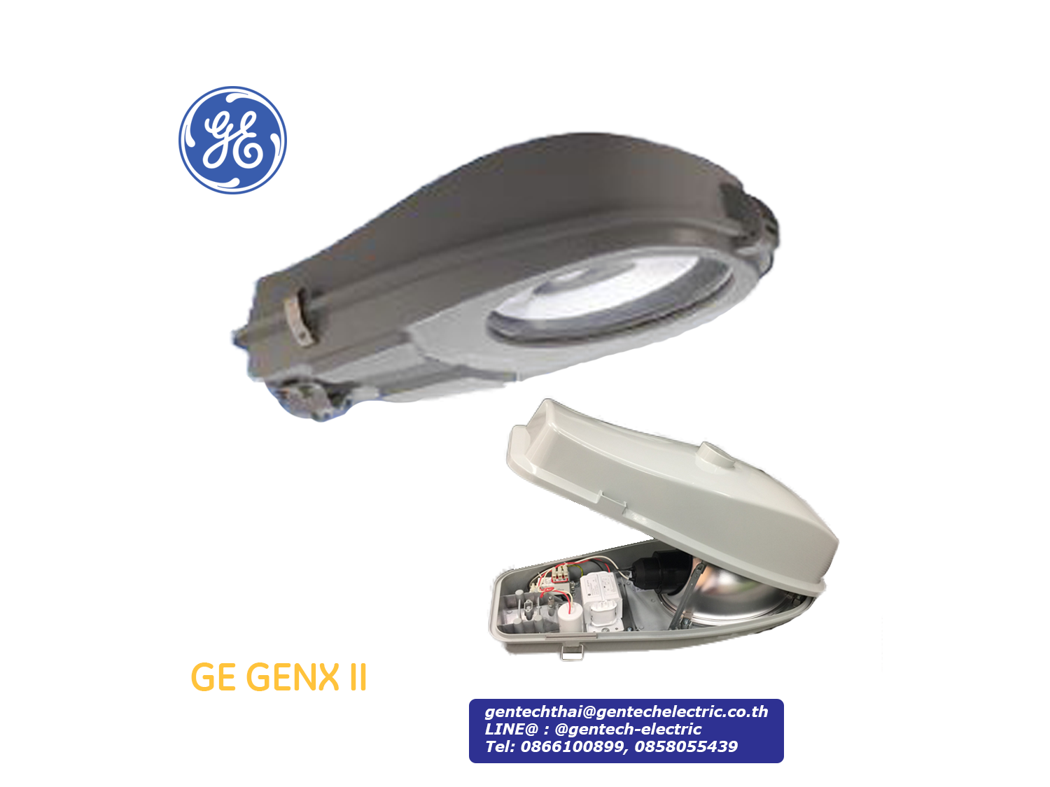 GE HPS Streetlight GENX II 250W (70-250W optional); SKU: AF21832, GEN25S6PWA