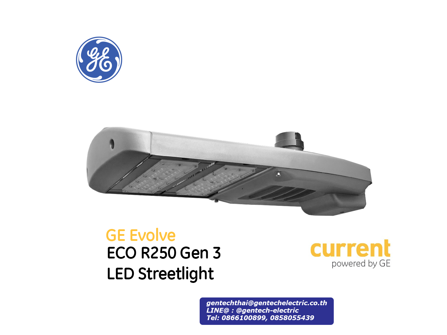 GE LED Streetlight ECO R250 Gen 3
